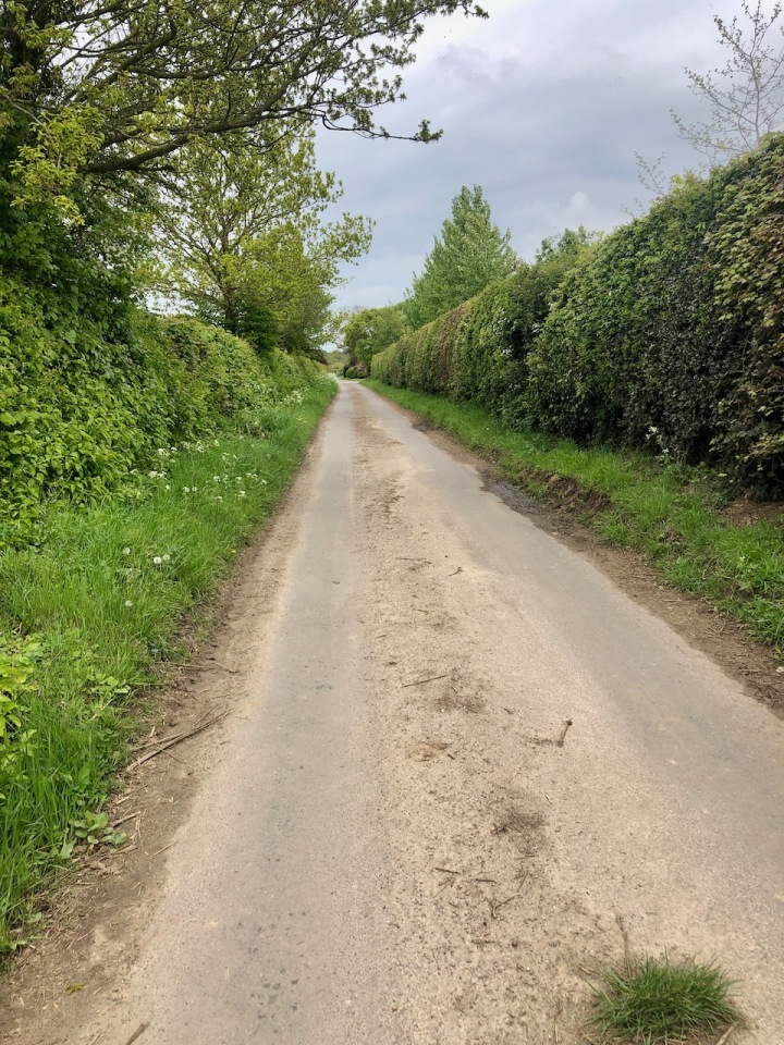 Pedalling the country lanes to Happisburgh