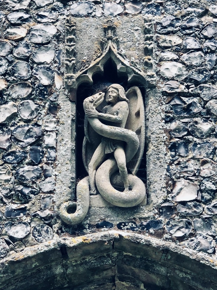Irstead Church and Serpent